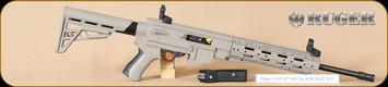 "Ruger - 10/22 - 22LR - ATI AR-22, FDE/Bl, 16.1"""