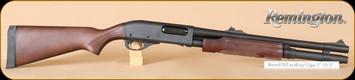 "Remington - Model 870 - 12Ga/3""/18.5"" - Tactical Express, Wd/Matte Blk, 2-shot magazine extension"