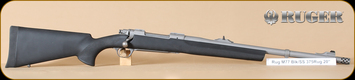 "Ruger - M77 - 375Ruger - Alaskan, BlkHogue/MatteSS, Muzzle Brake, 20"""
