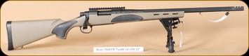 "Remington - Model 700 - 22-250Rem - VTR, FDE/Bl, 22"",  with bipod"