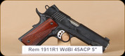 Remington - 1911 - 45ACP - R1, Carry, 2 magazines, 5""