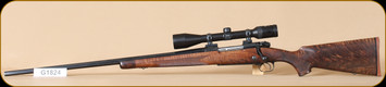 "Consign - Winchester - 264WinMag - Model 70 - Wd/Bl, octagon barrel, 26"", Left Hand, Zeiss Diavari V 5-15x42, duplex reticle, factory custom shop rifle, custom shop papers and case"