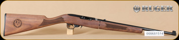 "Ruger - 10/22 - 22LR - Deluxe Classic VI Walnut Stock/Blued, Takedown Rifle, includes bag, 18.5"" - I"