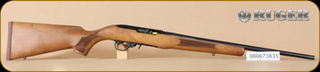 "Ruger - 10/22 - 22LR - French Walnut/Blued, no sights, 20"" - C"