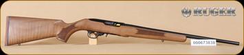 """Ruger - 10/22 - 22LR - French Walnut/Blued, no sights, 20"""" - G"""