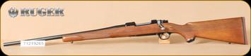 "Ruger - 204Ruger - M77 - Hawkeye, Wd/Bl, 22"", LH - Left Hand"