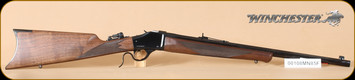 Winchester - 1885 - 405Win - Short Hunter, Wd/Bl, octagon brl, 22""