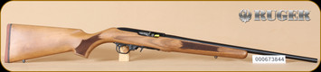"Ruger - 10/22 - 22LR - French Walnut/Blued, No sights, 20"" - K"