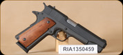 Consign - Rock Island Armory - 45ACP - 1911-A1 FS - Wd/BL, 5""