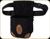 Browning - Lona- Canvas/Leather Shell Pouch - Black & Brown