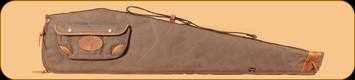 "Browning - Lona - Canvas/Leather Flexible Shotgun Case - Flint&Brown - 48"""