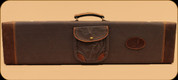 Browning - Lona - Canvas/Leather Fitted Case - Flint & Brown