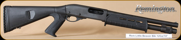 "Remington - 870 Little Beaver - 12Ga/3""/14"" - Mesa Tactical Urbino stock, Magpul fore-end, Wilson combat one-shot magazine extension, hard case"