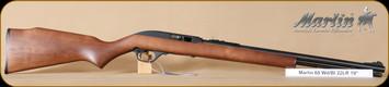 "Marlin - 60 - 22LR - Wd/Bl, 19"""