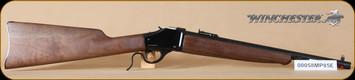 """Winchester - 1885 - 38-55Win - Trapper, Wd/Bl, 16.5"""" - C"""