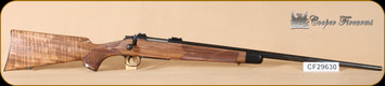 "Cooper - M51 - TAC20 - Custom Classic, Wd/Bl, Neidner butt plate, skeleton grip cap, inlaid swivel studs, 24"""