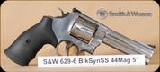 """S&W - 629-6 - 44Mag - BlkSyn/SS, 5"""""""