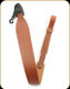 "Levy's Leather - Leather Sling - 2 1/4"" Walnut Cobra Style - 37"" - SV22-WAL"