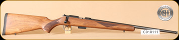 "Cogswell & Harrison - Certus - 17HMR - Walnut/Blued, adjustable trigger pull, 2 sling studs, 1/2"" UNF muzzle threading, 20"" - j"
