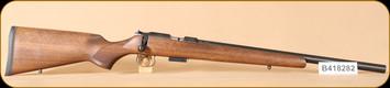 "Used - CZ - 22WMR - 455 - Wd/Bl, heavy barrel, 20.5"""