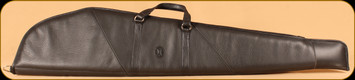 """Levy's Leather - Rifle Case - Black Leather and Suede - 48""""- SL201-L-BLK"""