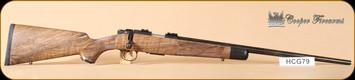 """Cooper - M57 - 17hmr - Custom Classic, checkered bolt knob, 22"""""""