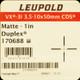 Leupold - VX-3i 3.5-10x 50mm - Duplex - CDS - Matte