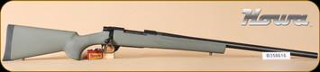 """Howa - Hogue - 22-250Rem - GrnSyn/Bl, heavy barrel, 24"""""""