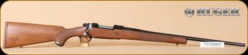"""Ruger - M77 - 338RCM - Ruger Compact Magnum, Walnut/Matte Blue, 22"""", LH - b"""