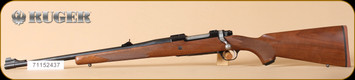 "Ruger - M77 - 300RCM - Walnut/Satin Bl, 20"", LH - Left Hand"