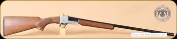 "Huglu - 301A - 28Ga/2.75""/26"" - Wd/Bl, silver receiver, mobile choke"