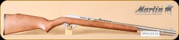 """Marlin - 60SB - 22LR - Wd/SS, 19"""""""