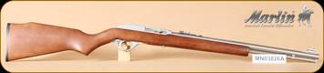 """Marlin - 60SB - 22LR - Wd/SS, 19"""" - c"""