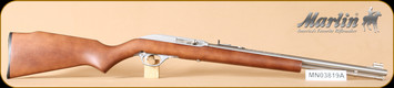 "Marlin - 60SB - 22LR - Wd/SS, 19"" - d"
