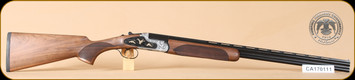 "Huglu - 103F - .410/3""/26"" - Wd/Bl, side plate, birds & engraving"
