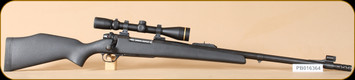 "Consign - Weatherby - 460WbyMag - MKV - BlkSyn/Bl, 24"", Talley quick release rings, Leupold VX-3 3.5-10x40, duplex"