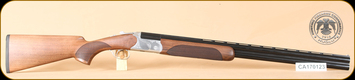 "Huglu - 103DE - 12Ga/3""/28"" - Wd/Bl, silver receiver, mobile choke"