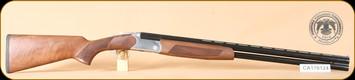 "Huglu - Hawk - 12Ga/3""/28"" - Wd/Bl, silver receiver, mobile choke"