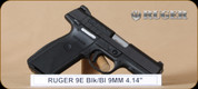 """Ruger - 9mm - 9E - BlkSyn/Bl, 4.14"""""""