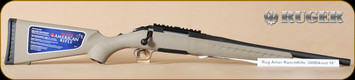"Ruger - American - 300BLK - Ranch, FDE/Matte Blk, 16"""