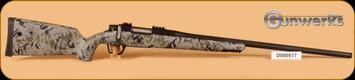 """Gunwerks - REVX - 6.5Creedmoor - Forest/Blk Cerakote, 25"""" fluted bbl"""