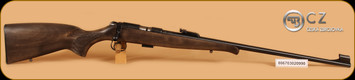 "CZ - 455 - 22LR - Rustic Training, Wd/Bl, 24.8"""