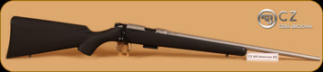 CZ - 455 - 17HMR - American Stainless, BlkSyn/SS, 20.5""