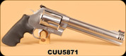 Consign - Smith & Wesson - 500S&W - Model 500 - Stainless, 8.5""
