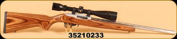 """Consign - Ruger - 22LR - 10/22 - SS Target Laminate, 20"""" Bbl, Ruger BX Trigger c/w Bushnell Legend 5-15 AO MD"""