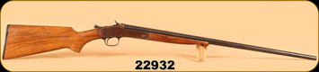 """Consign - Winchester - 410 - Model 20 - Wd/Bl, 26"""", Cracked Butt Stock"""