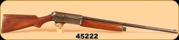 """Consign - Winchester - 12Ga - Model 1911 SL - Wd/Bl, Cyl Bore, 26"""""""