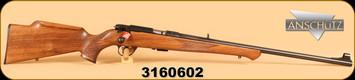 "Anschutz - 22LR - 1710 D KL Monte Carlo - Item 000439, 23"", c/w Iron Sights, S/N: 3160602"
