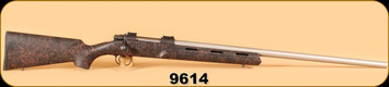 """Used - Cooper - 257 Roberts Ackley Improved - M22 - Phoenix, Single Shot, Blk w/Red Web, SS 26"""" Heavy Barrel"""