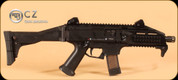 "CZ - Scorpion EVO 3 S1 Pistol - 9mm - Blk Syn, Folding Stock, Iron Sights, 7.72"" (Restricted)"